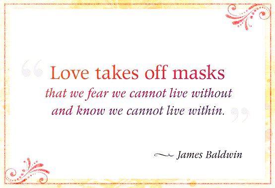 lovetakesoffmasks