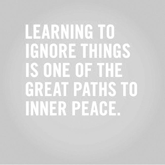 ignorethings