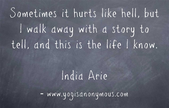 Sometimes it Hurts Like Hell – Yogis Anonymous Blog Repetition Compulsion